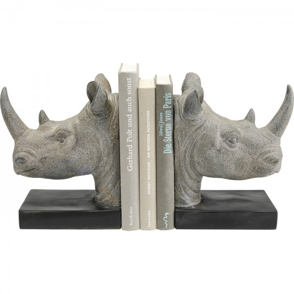 Buchstütze Rhino (2/Set)