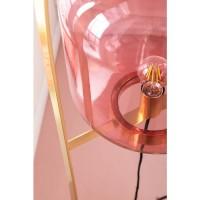Stehleuchte Jupiter Pink-Brass