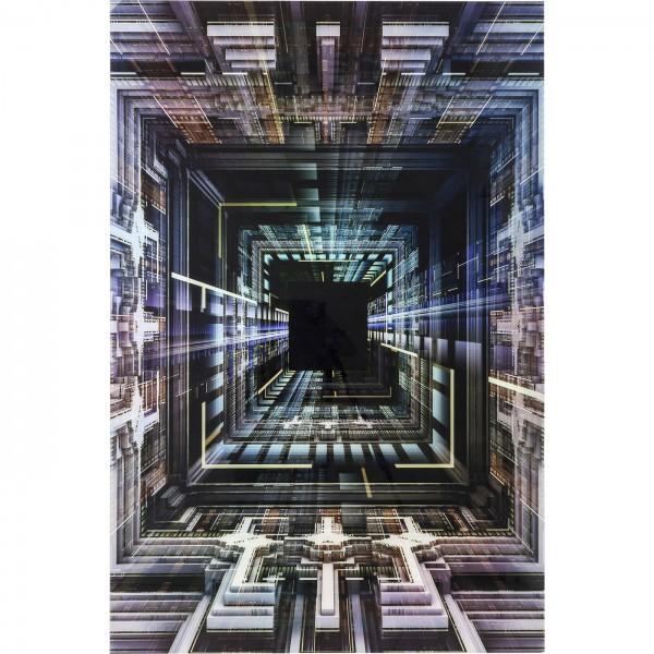 Image verre de science-fiction 120x180cm