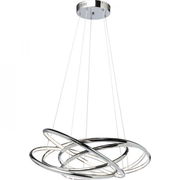 Lampe suspendue Saturn LED Chrome Big