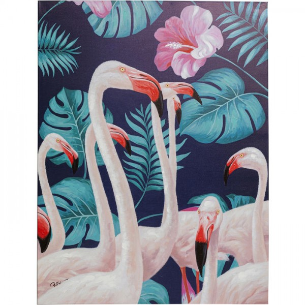Bild Touched Flamingo Road Natur 122x92