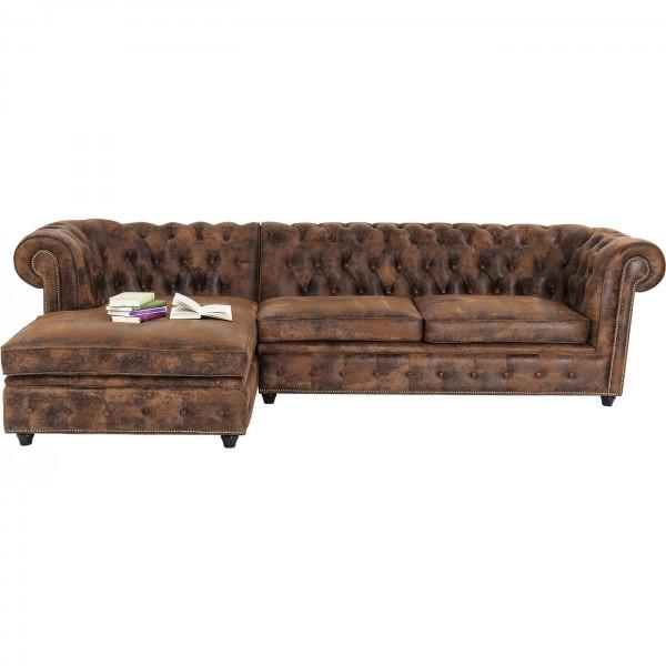 Corner sofa Cambridge Vintage Smart L