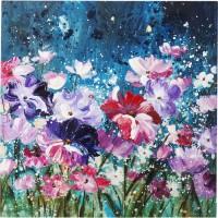Bild Touched Flower Garden 100x100