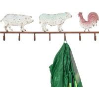 Wandgarderobe Farm Animals