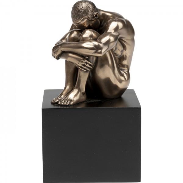 Deko Objekt Nude Man Thinking 10cm