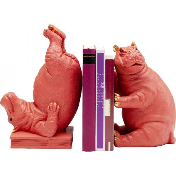 Soutien du livre Hippo Pink (2/set)