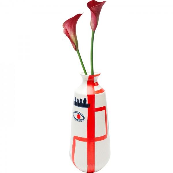 Vase Art Face Colore 38