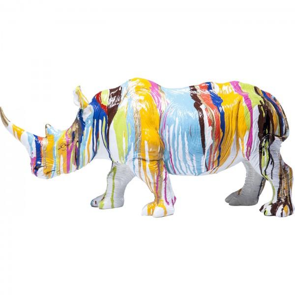 Deco Figure Rhino Colore 26cm