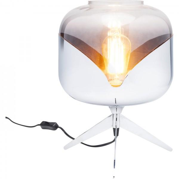 Table lamp Chrome Goblet Ball
