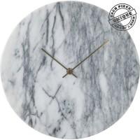 Wanduhr Desire Marble Weiß
