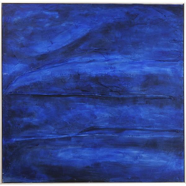Acrylique Abstract Deep Bleu 155x155