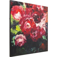 Bild Touched Roses 100x100cm