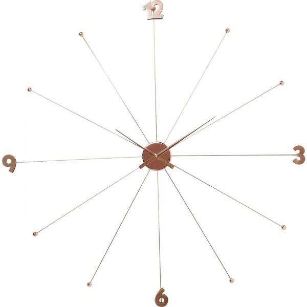 Horloge murale Like Umbrella Rosegold
