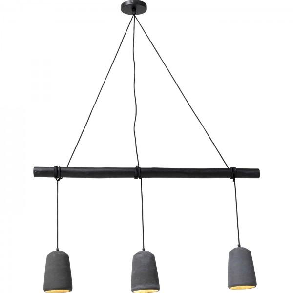 Lampe à suspension Dining Concrete Noir Tre