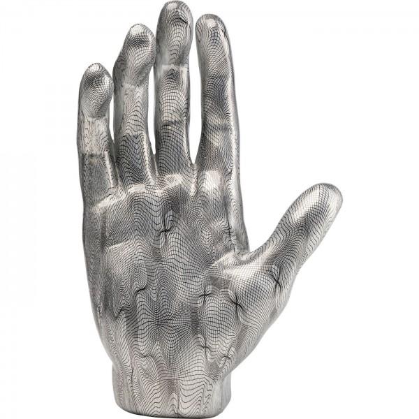 Deco Object Mano Grey