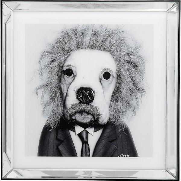 Image Frame Mirror Smart Dog 60x60