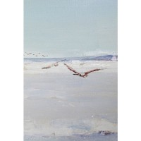 Acrylbild Frame Beach View 150x130cm