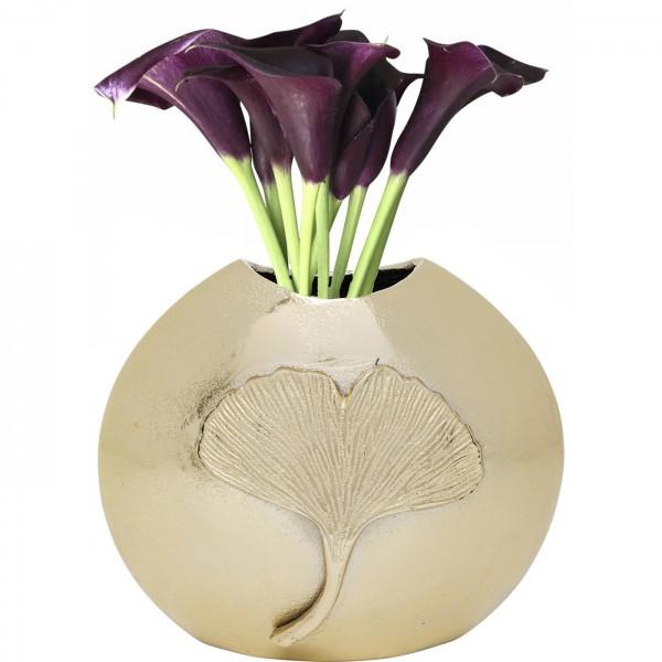 Vase Ginkgo Leaf 25