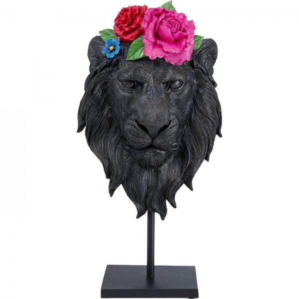 Décoration Objet Mask Lion Flower