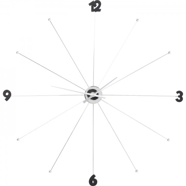 Horloge murale Like Umbrella Chrome