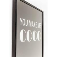 Bild Frame You Make Me Coco 42x30cm