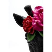 Deko Objekt Mask Giraffe Flower
