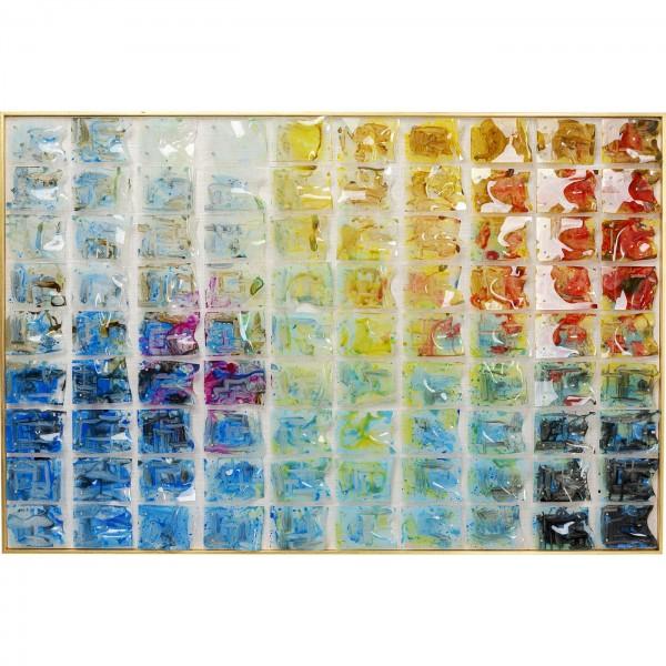 Decoration Frame Rainbow Fields 100x150cm