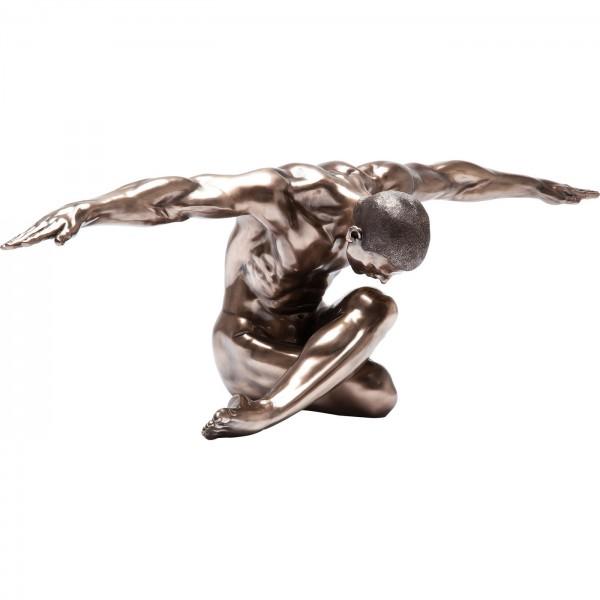 Deco Figure Nude Man Bow 137cm