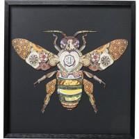 Bild Frame Art Bee 60x60cm