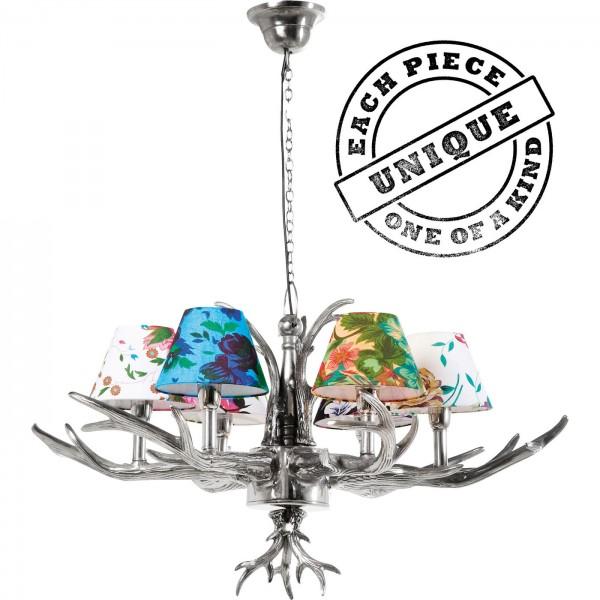 Lampe à suspension Antler Flowers 6
