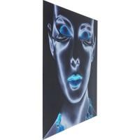 Bild Glas Diva 120x120cm