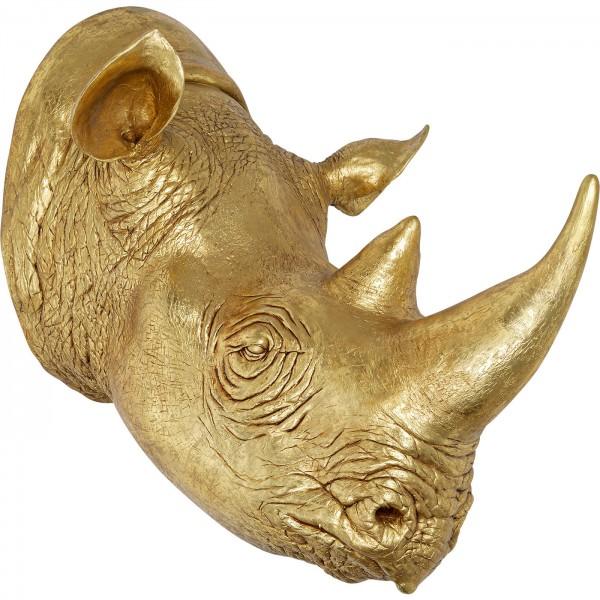 Deco Head Rhino Gold 107cm