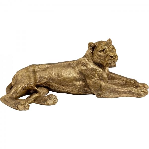 Décoration Objet Lion Or 113cm