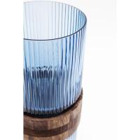 Vase Rim Blau 36cm