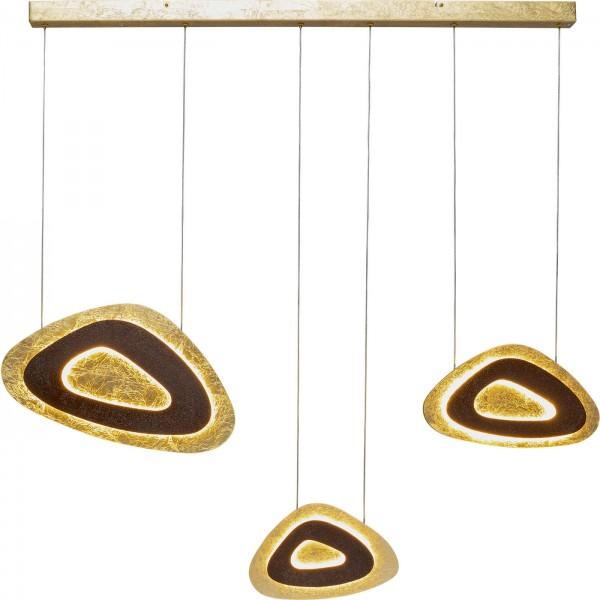 Lampe à suspension Triangolo Tre LED 120