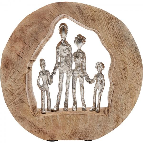 Deko Objekt Family In Log