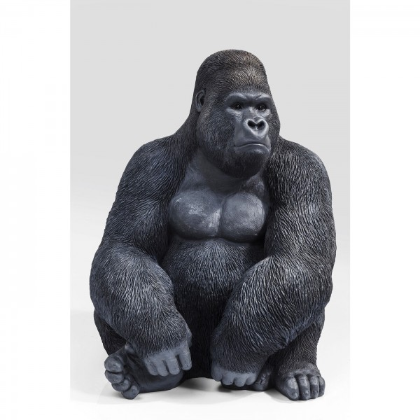 Deco Object Monkey Gorilla Side XL Black
