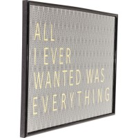Bild Frame All I Ever Wanted 41x31cm
