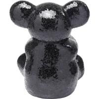 Deko Objekt Teddy Bear Hug Schwarz