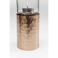 Teelichthalter Elegancia Rosegold 19cm