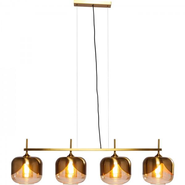Lampe à suspension Golden Goblet Quattro Ø25cm