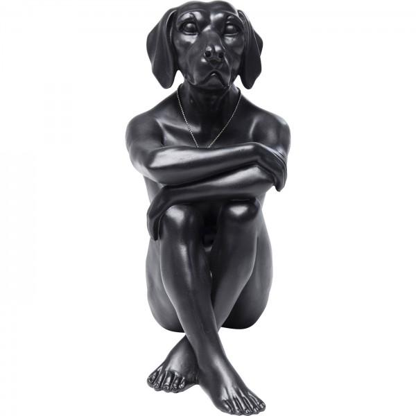 Deko Figur Gangster Dog Black