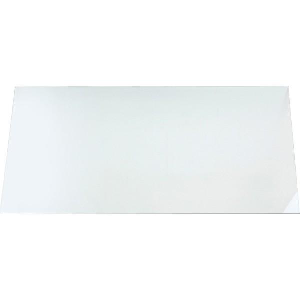 Glass plate 140x70x0,8cm ESG clear