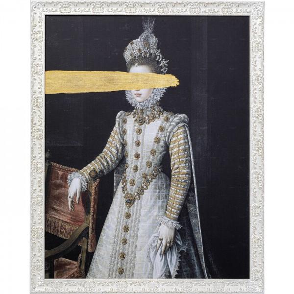 Peinture à l'huile Frame Incognito Baroness 100x80
