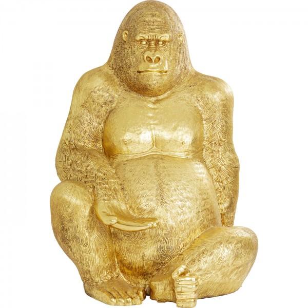 Decoration Figure Gorilla Gold XXL 249