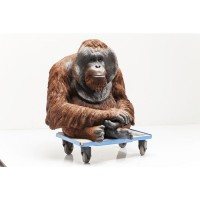 Deko Figur Monkey Orangutan Large