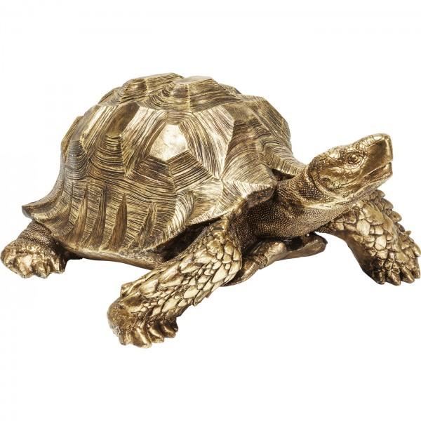 Decoration Figure Turtle Gold Large