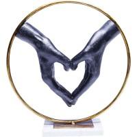 Deko Objekt Elements Heart Hand