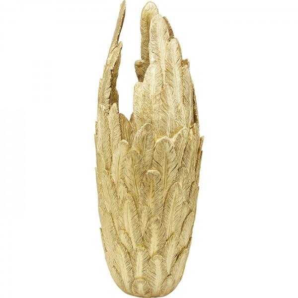 Vase Feathers Gold 91