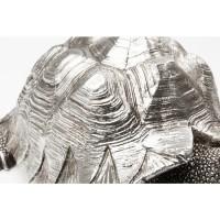 Deko Figur Turtle Silber Klein